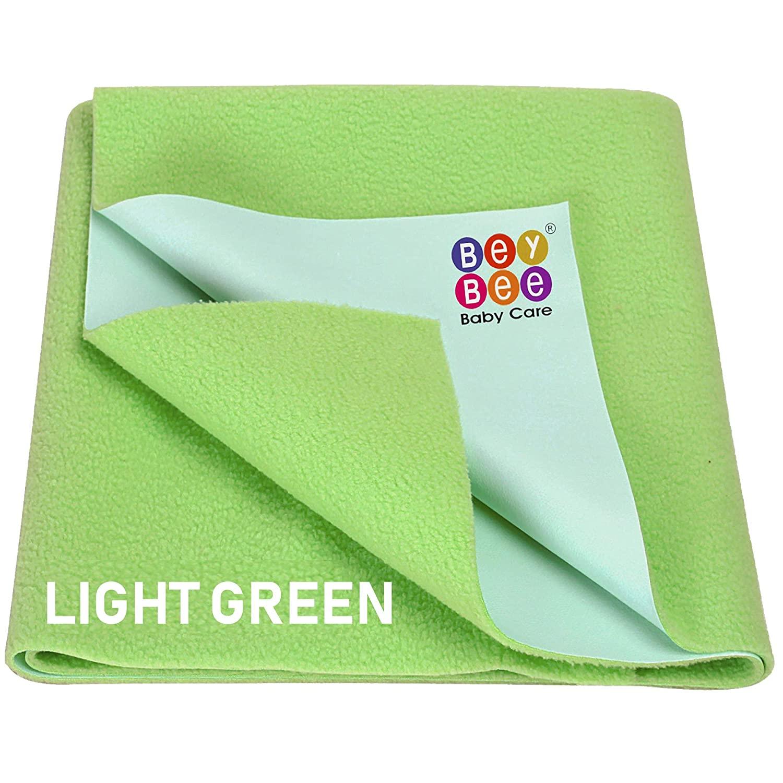 Beybee Quick Dry Bed Protector Waterproof Baby Cot Sheet – Small (Beige)