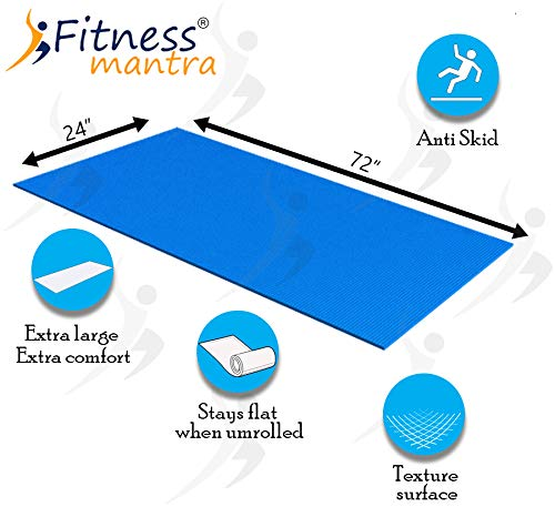 Fitness Mantra® Yoga Mat for Gym Workout