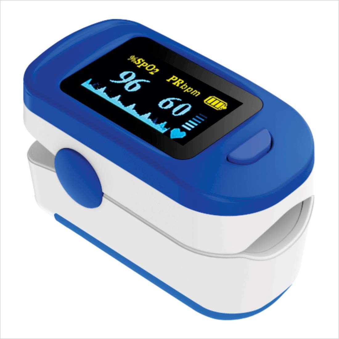 AccuSure Finger Tip Pulse Oximeter with OLED Display