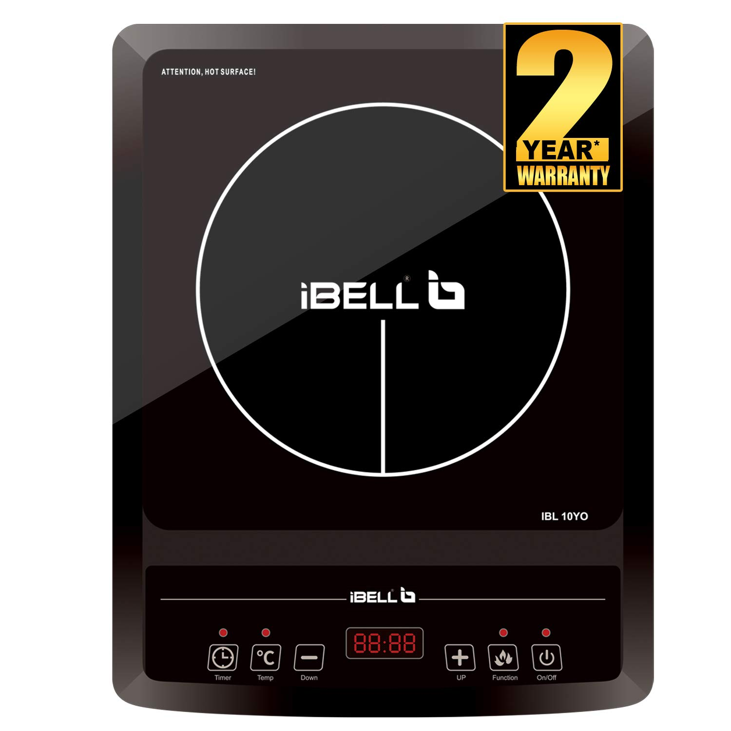 iBELL  2000 W with Auto Shut Off cooktop