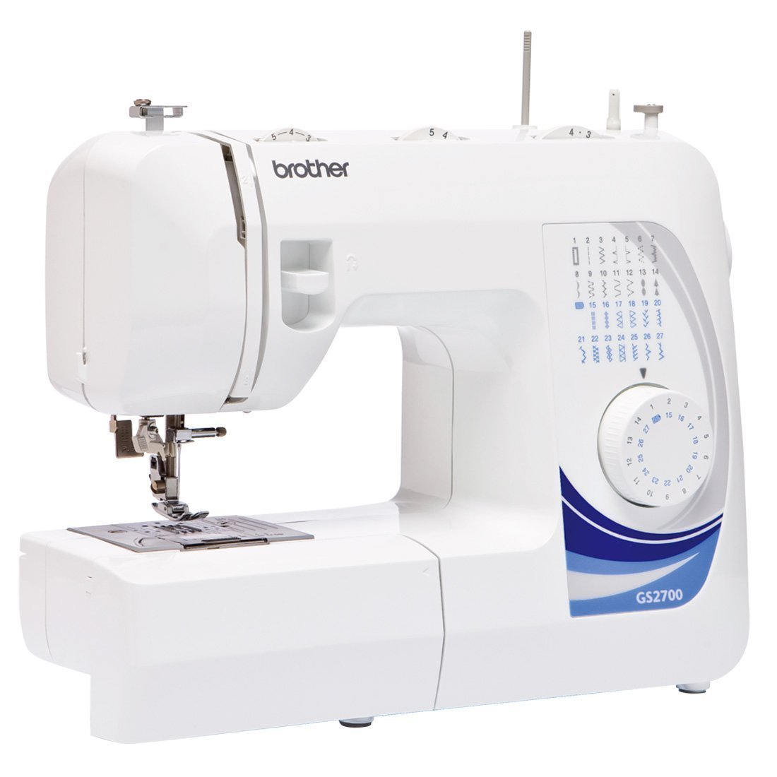 Brother Gs-2700 Plastic 9-inch Electric Sewing Machine