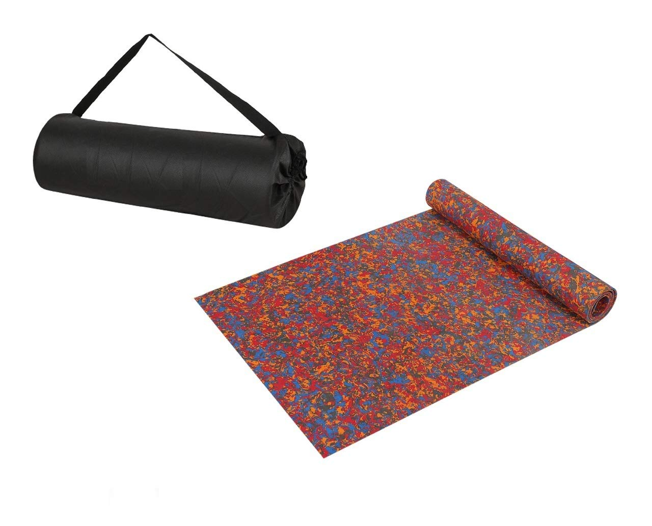 Yogarise Anti Skid and Durable Multicolour Yoga Mat