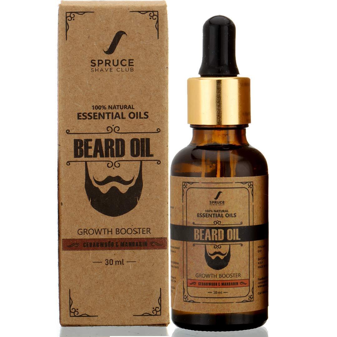 Spruce Shave Club Beard Oil For Beard Growth