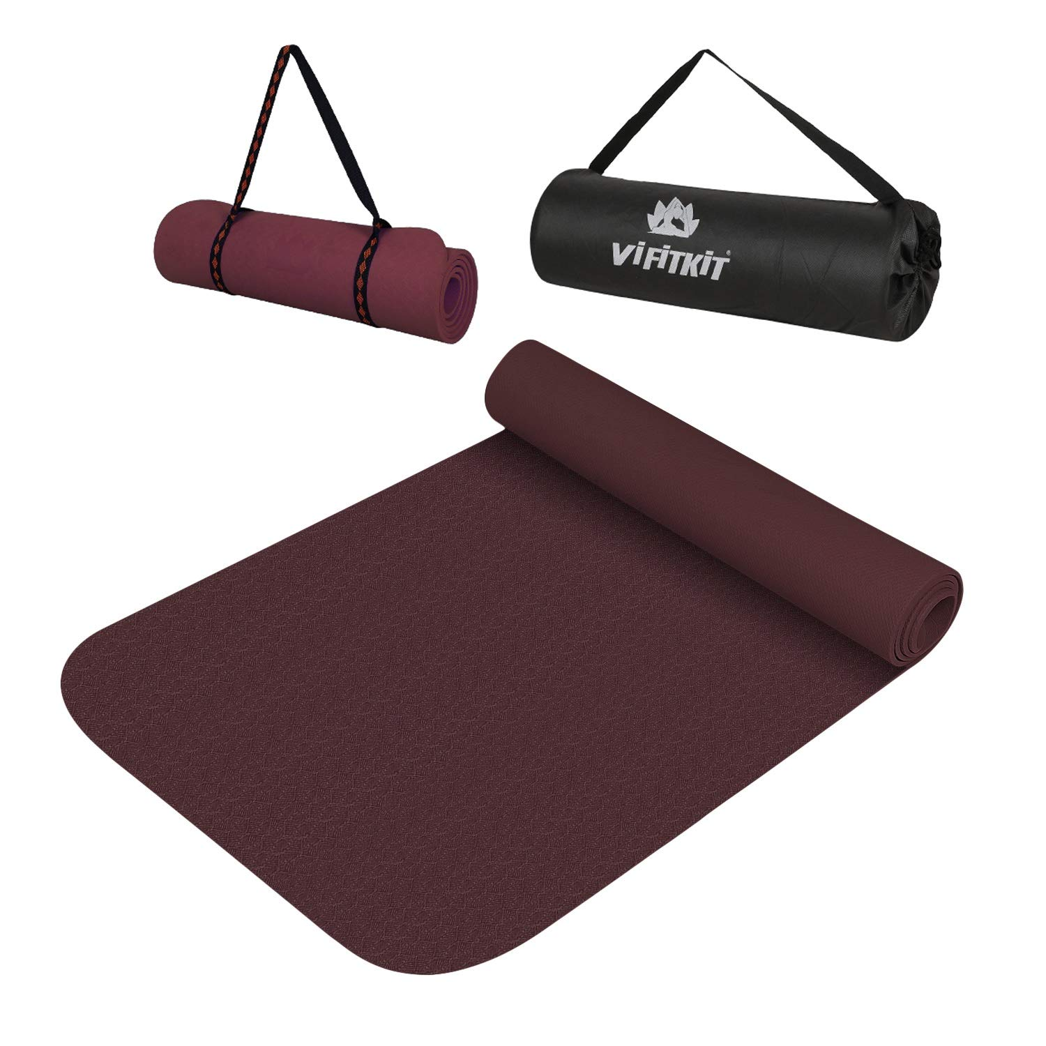 VIFITKIT Extra Thick Yoga and Exercise Mat