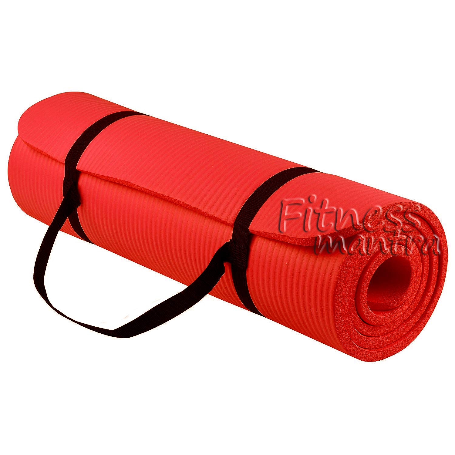 Fitness Mantra® Yoga Mat with Strap for Gym