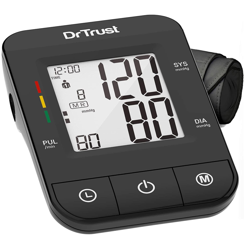 Dr Trust (USA)Automatic Comfort Digital Blood Pressure BP Monitor