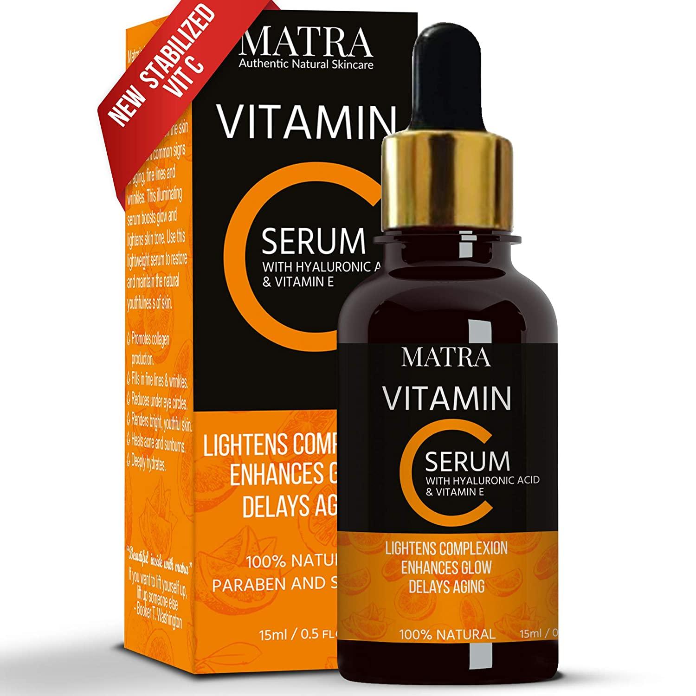 Matra Naturals Vitamin C with Hyaluronic Acid & Vit E