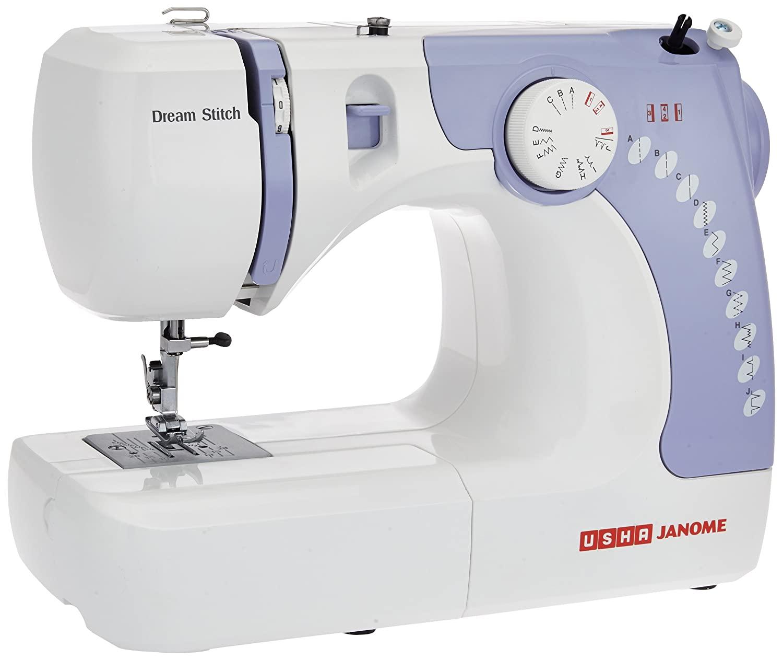 Usha Janome Automatic Zig-Zag Electric Sewing Machine
