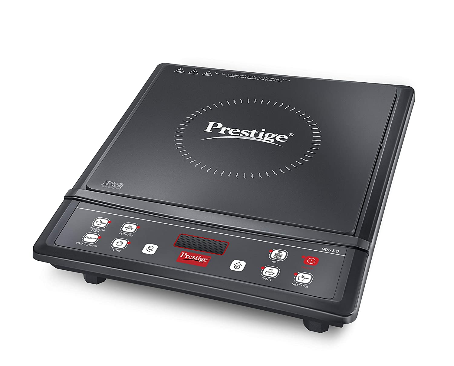 Prestige Iris 1.0 1200 Watt Induction Cooktop