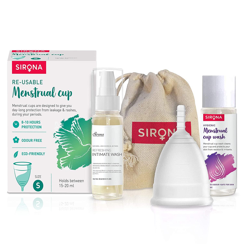 Sirona Reusable Menstrual Cup