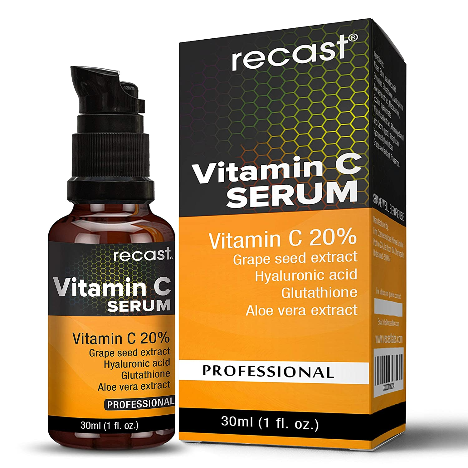 Vitamin C Serum For Face From Recast