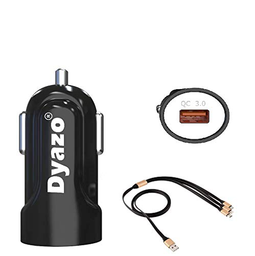 Dyazo Invisible Qc Port Rapid car Charger