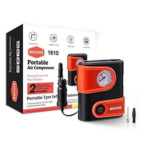 Woscher 1610 Portable Mini Tyre Inflator