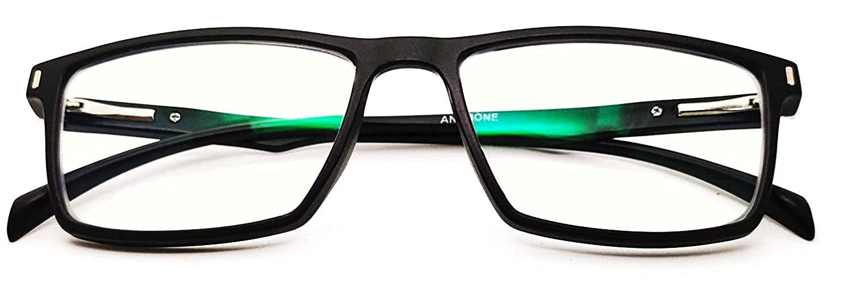 ANEMONE Square Unisex Blue Ray Cut Glasses