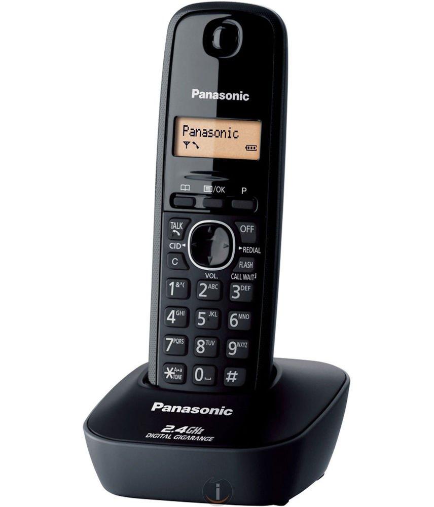 Panasonic Single Line 2.4 KX-TG3411SX Digital Cordless Phone