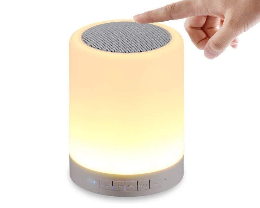 Devcool LED Touch Lamp Bluetooth Speaker