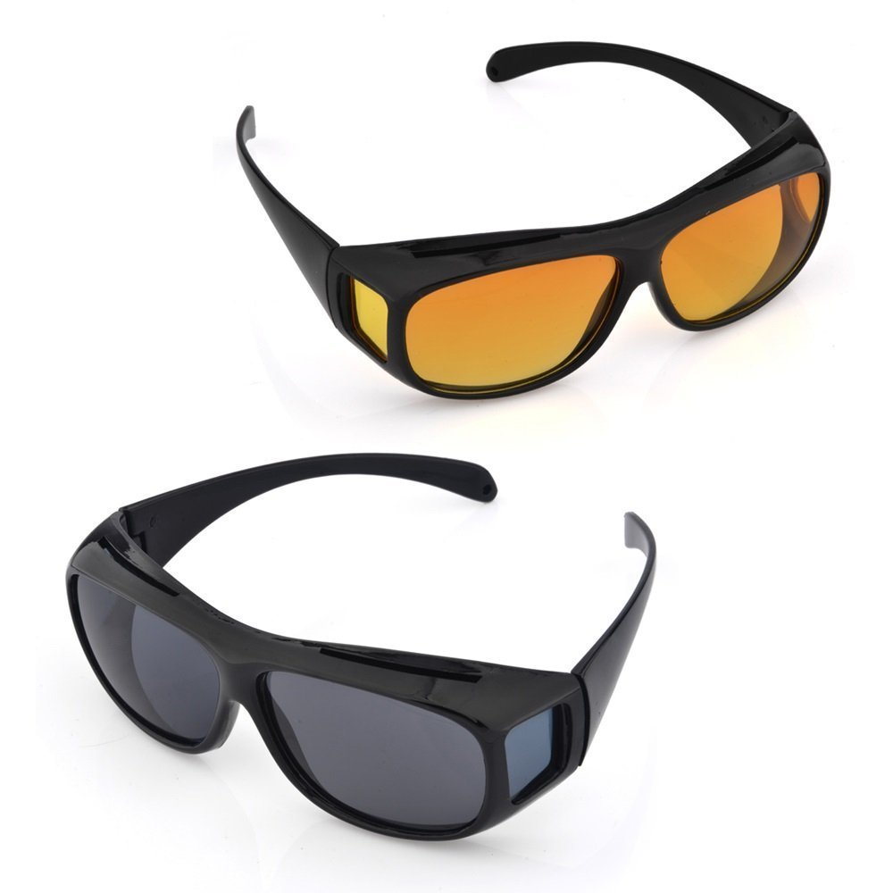 FLAMIZ Day and Night UV Protection HD Vision Goggles