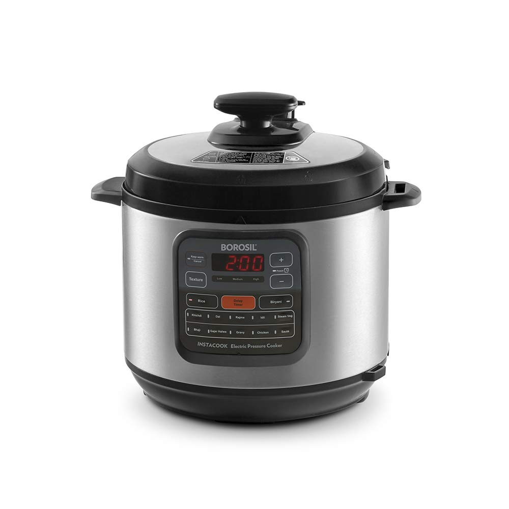 Borosil Instacook Stainless Steel Electric Pressure Cooker