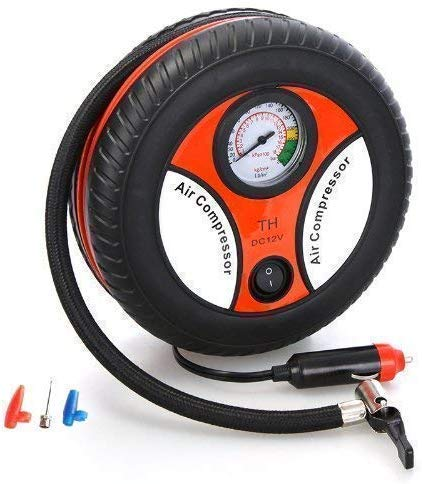 FLOWMEX Portable Electric Mini Air Compressor Pump