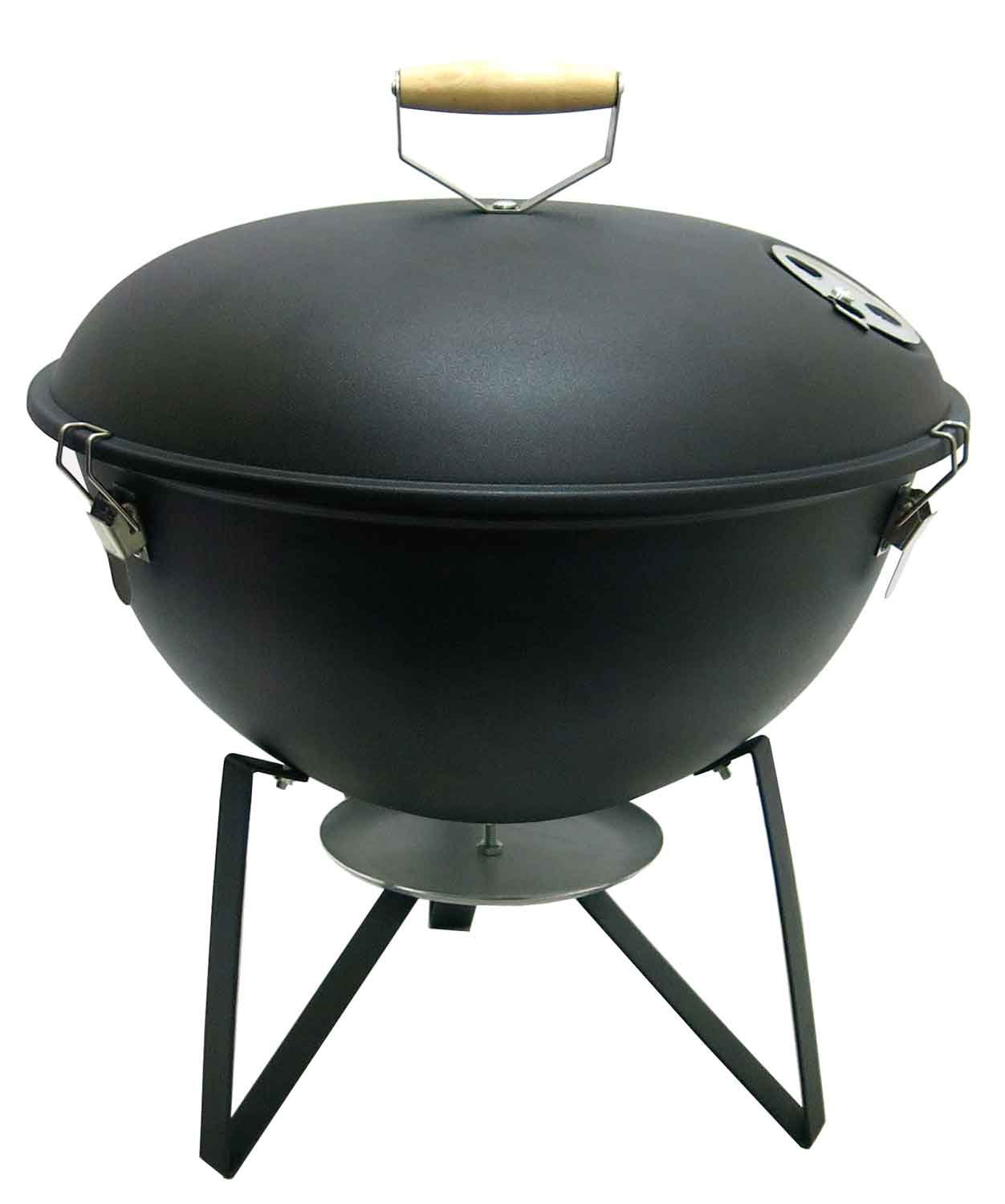 Fabrilla Kettle Oval Charcoal Barbeque Grill