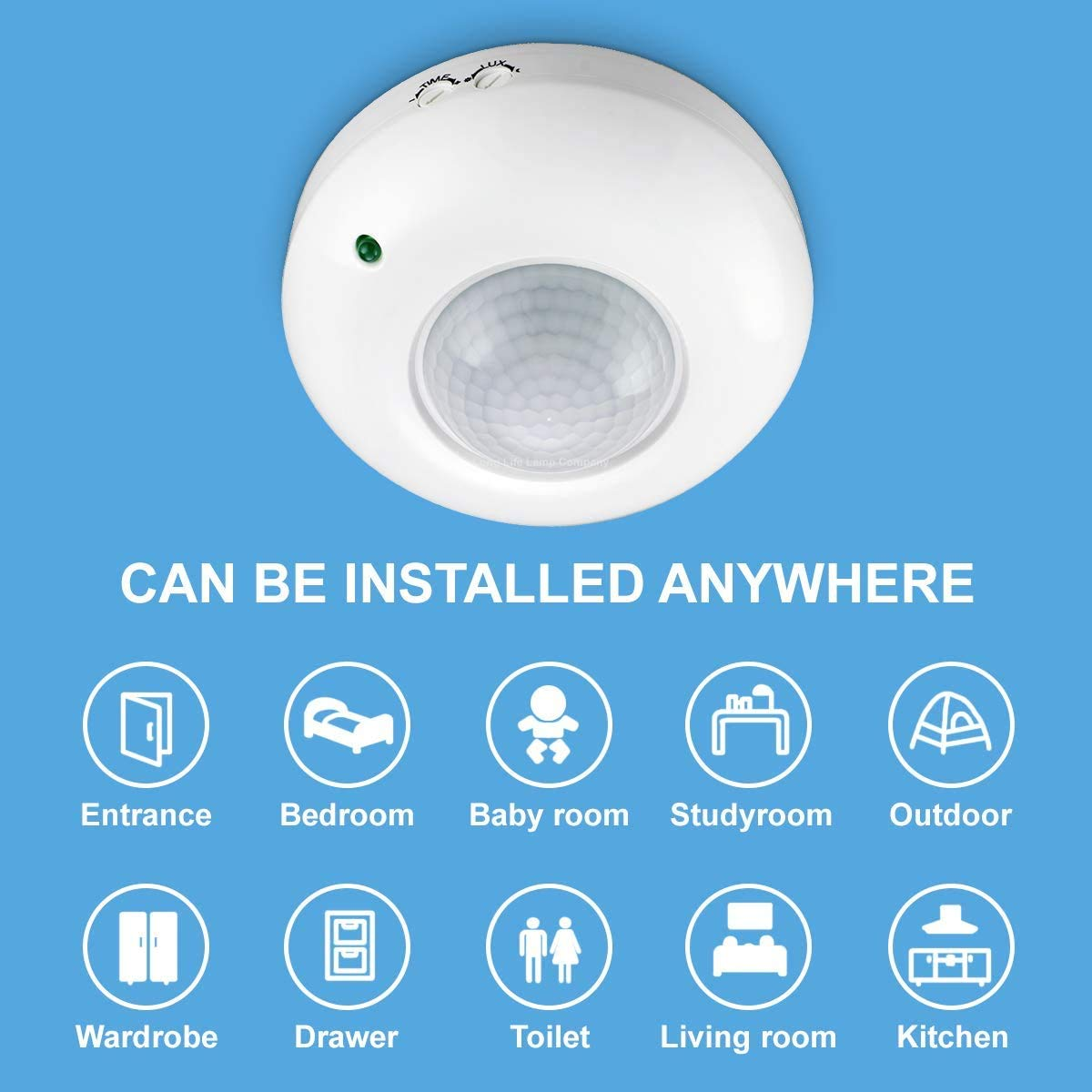 Blackt Electrotech 360 Degree PIR Motion Sensor