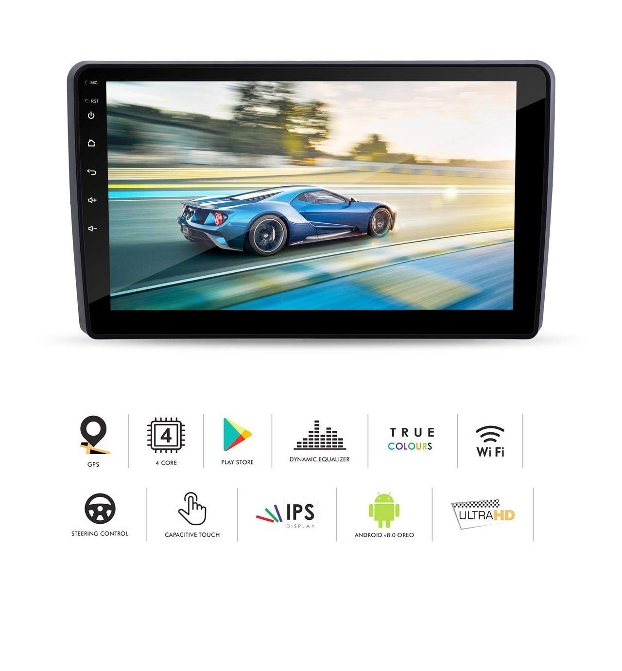 Auto Snap 9 Touch Screen Double Din Player