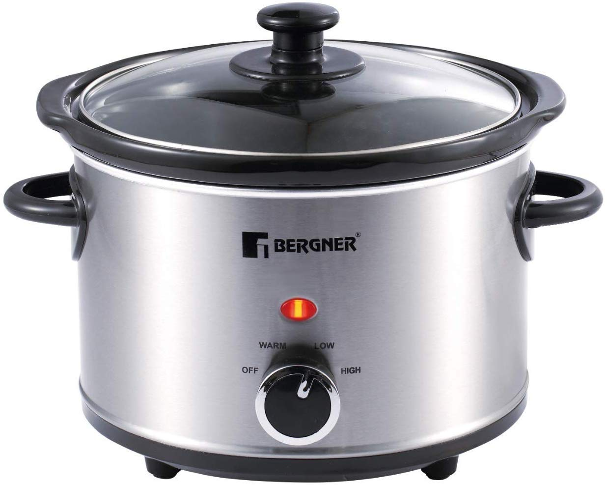 Bergner Elite Stainless Steel Slow Cooker