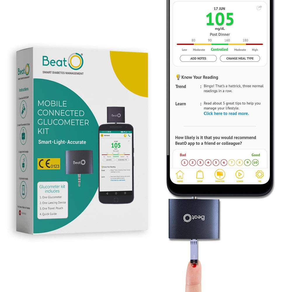 Beato Smart Glucometer Kit