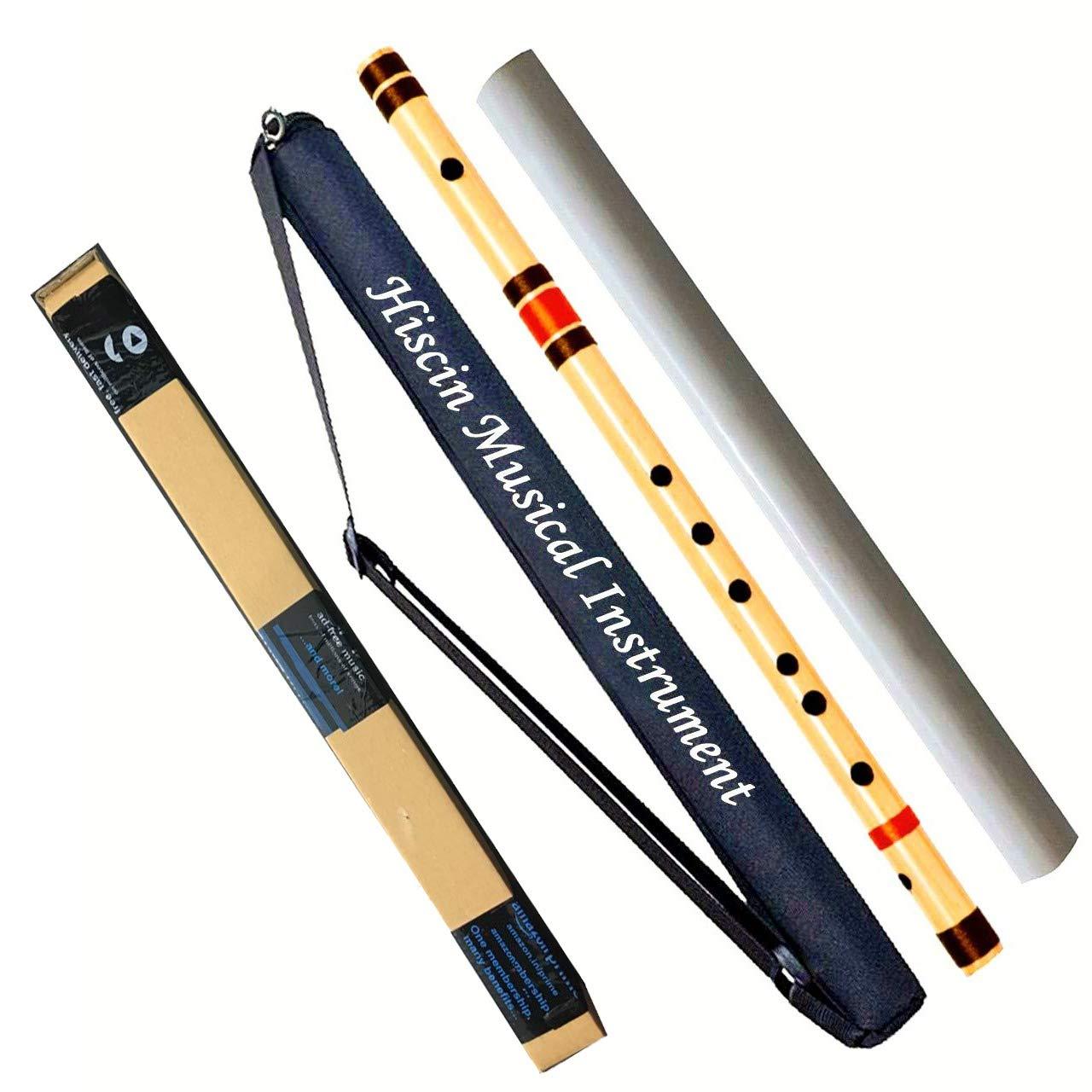 HISCIN Bamboo Natural Flute