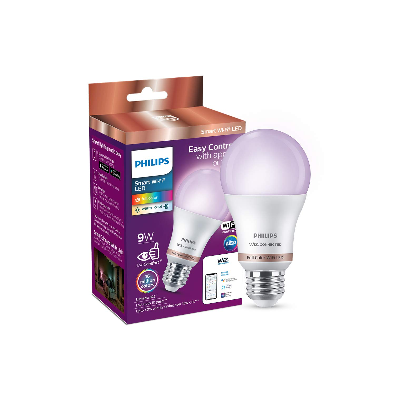 Philips Smart Wi-Fi LED Bulb E27 9-Watt