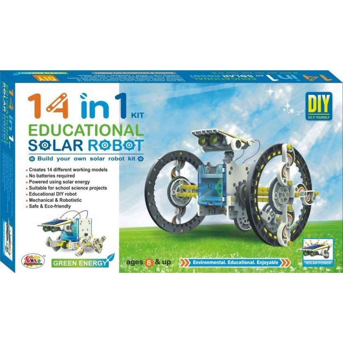 CBOX 14 in 1 Educational Solar Energy Kit