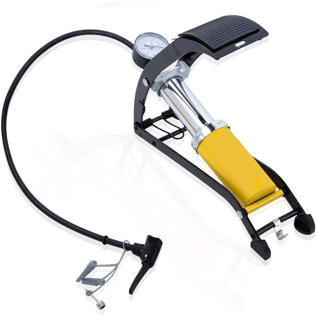 Aluminum Body High Pressure Foot Air Floor Pump