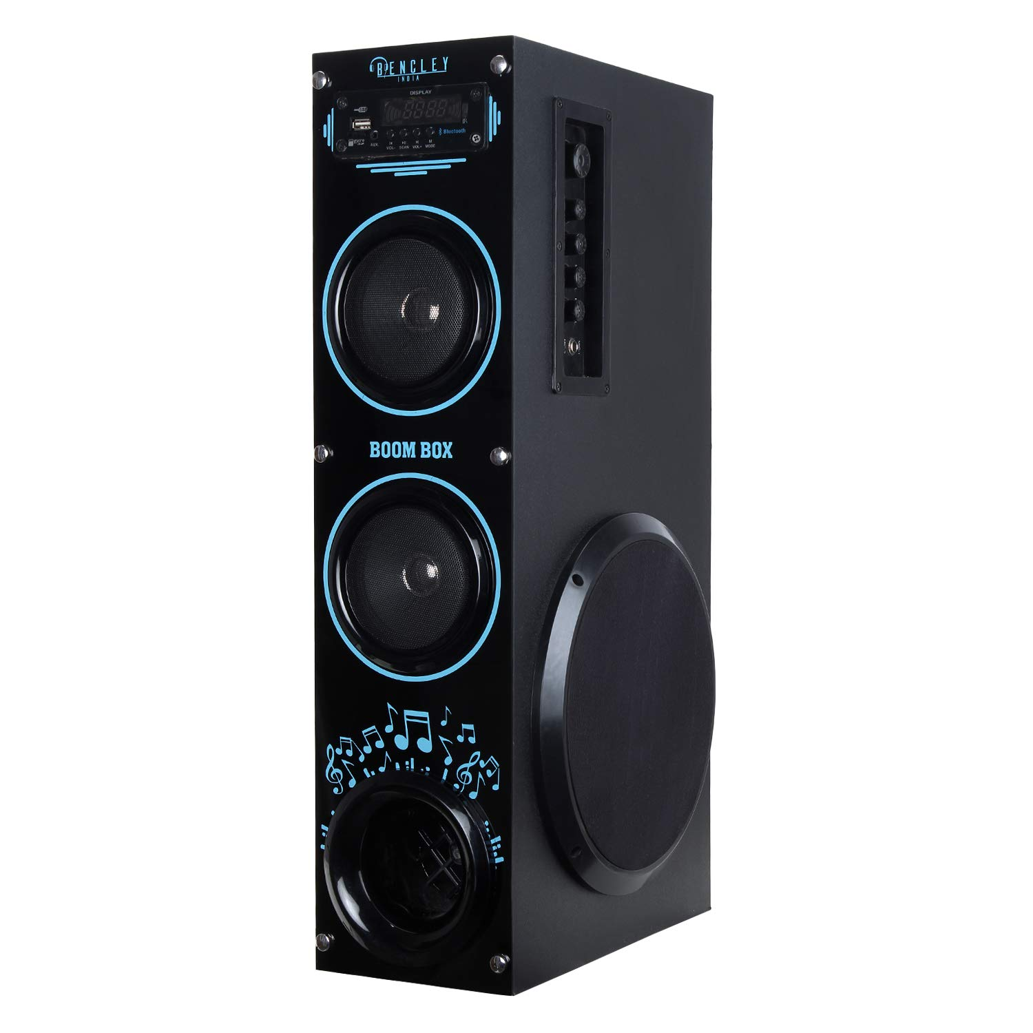 Bencley Boom Box Bluetooth Tower Speaker