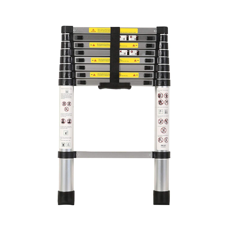 Smarty Aluminium 9 Step Telescopic Ladder