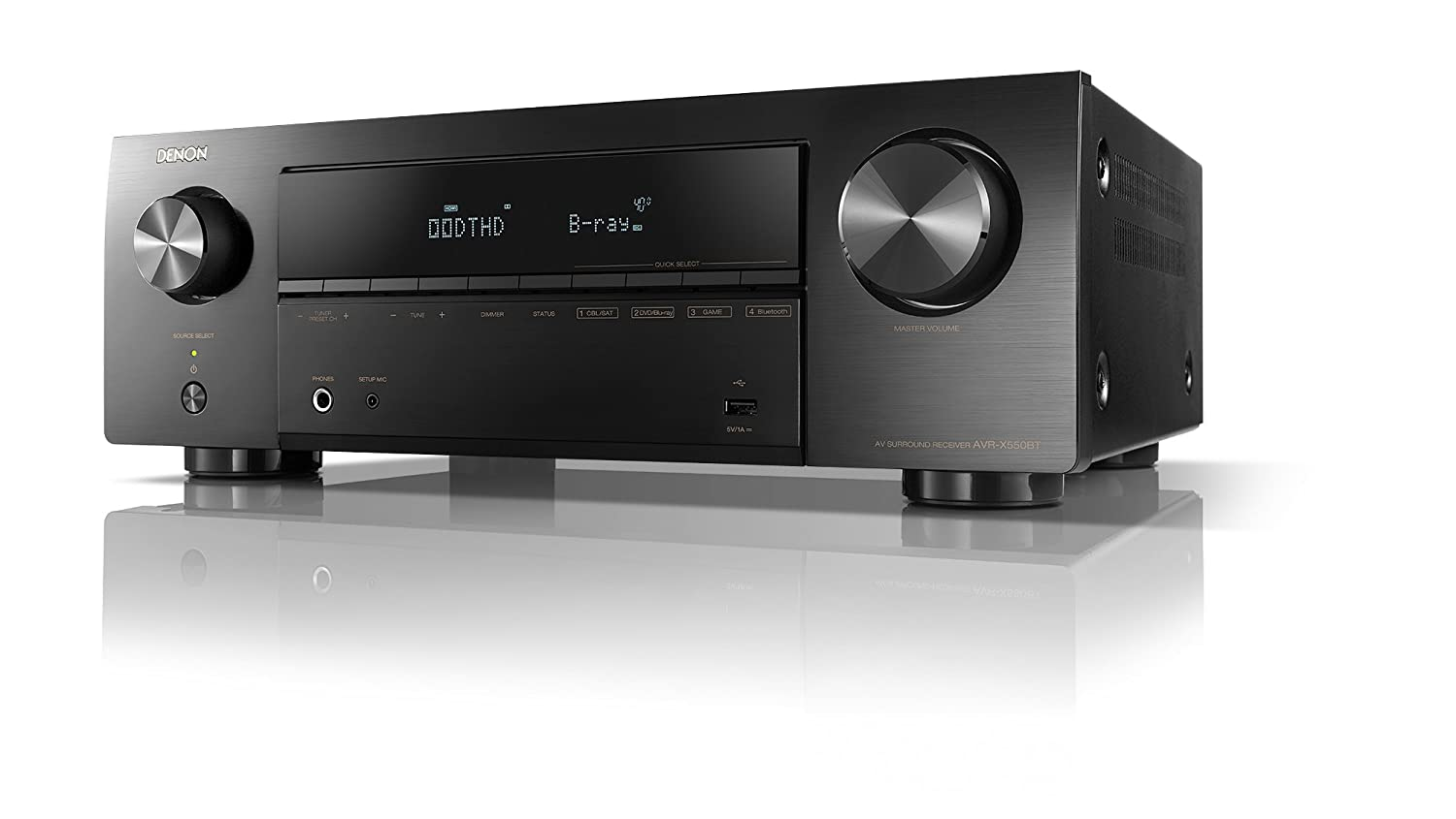 Denon AVR x550BT 5.2 Channel Dolby Ture
