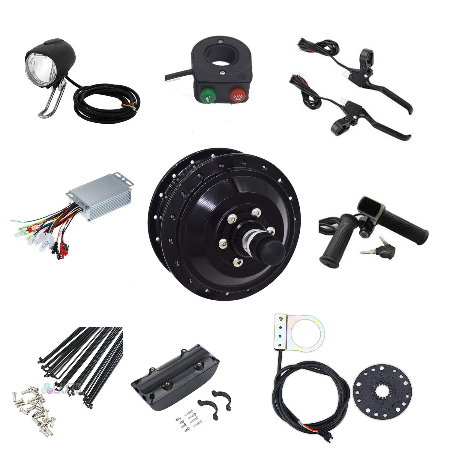 Electric Cycle Conversion Motor kit