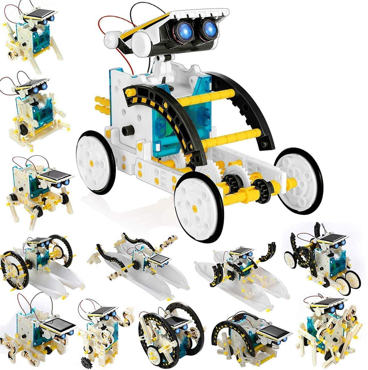 RVold 13-in-1 Educational Solar Robotic Kit