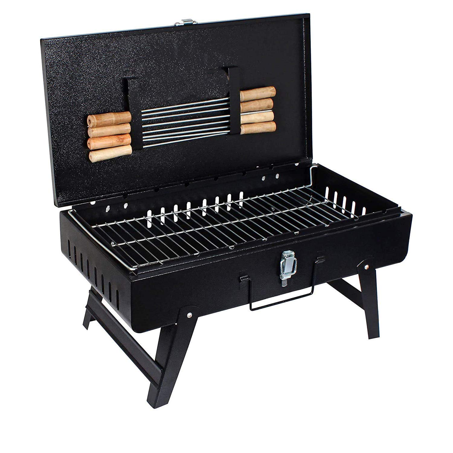 Hygiene Future Home Suitcase Charcoal Barbeque Grill