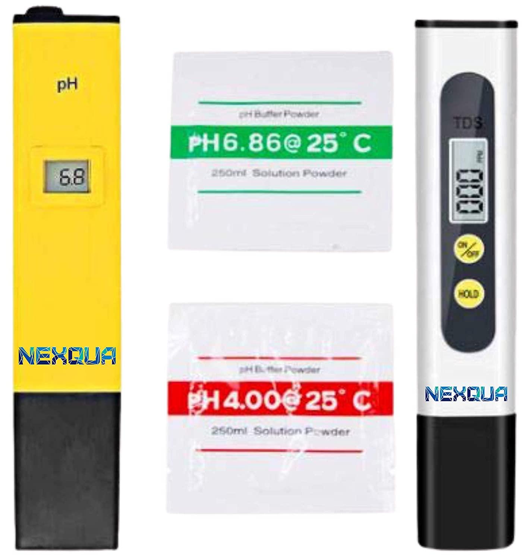 Nexqua Dew Portable Digital LCD PH Meter