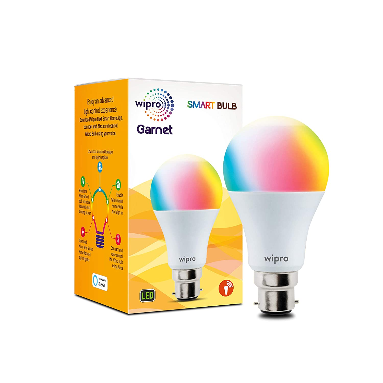 Wipro WiFi Enabled Smart LED Bulb B22 9-Watt