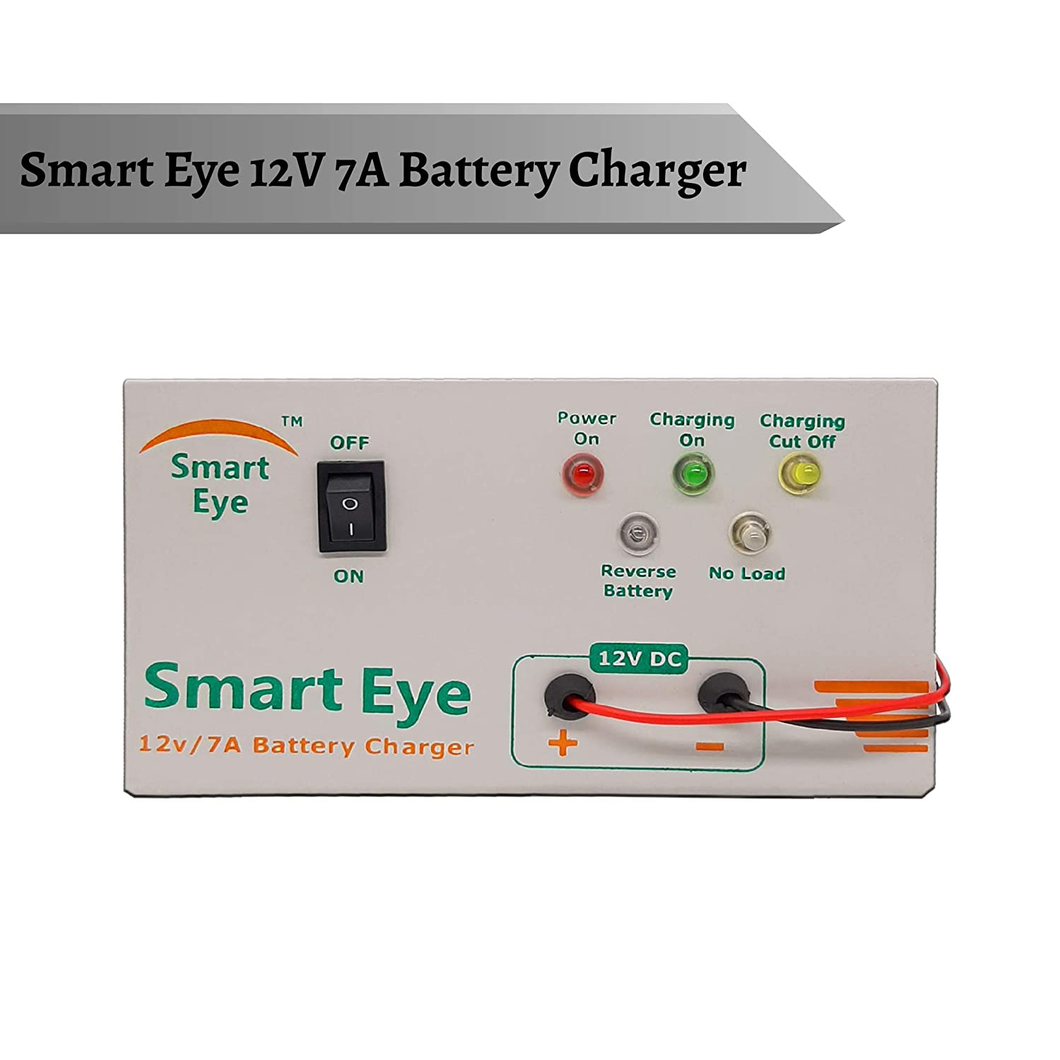 Smart Eye 12 Volts 7 Amps Automatic Battery Charger