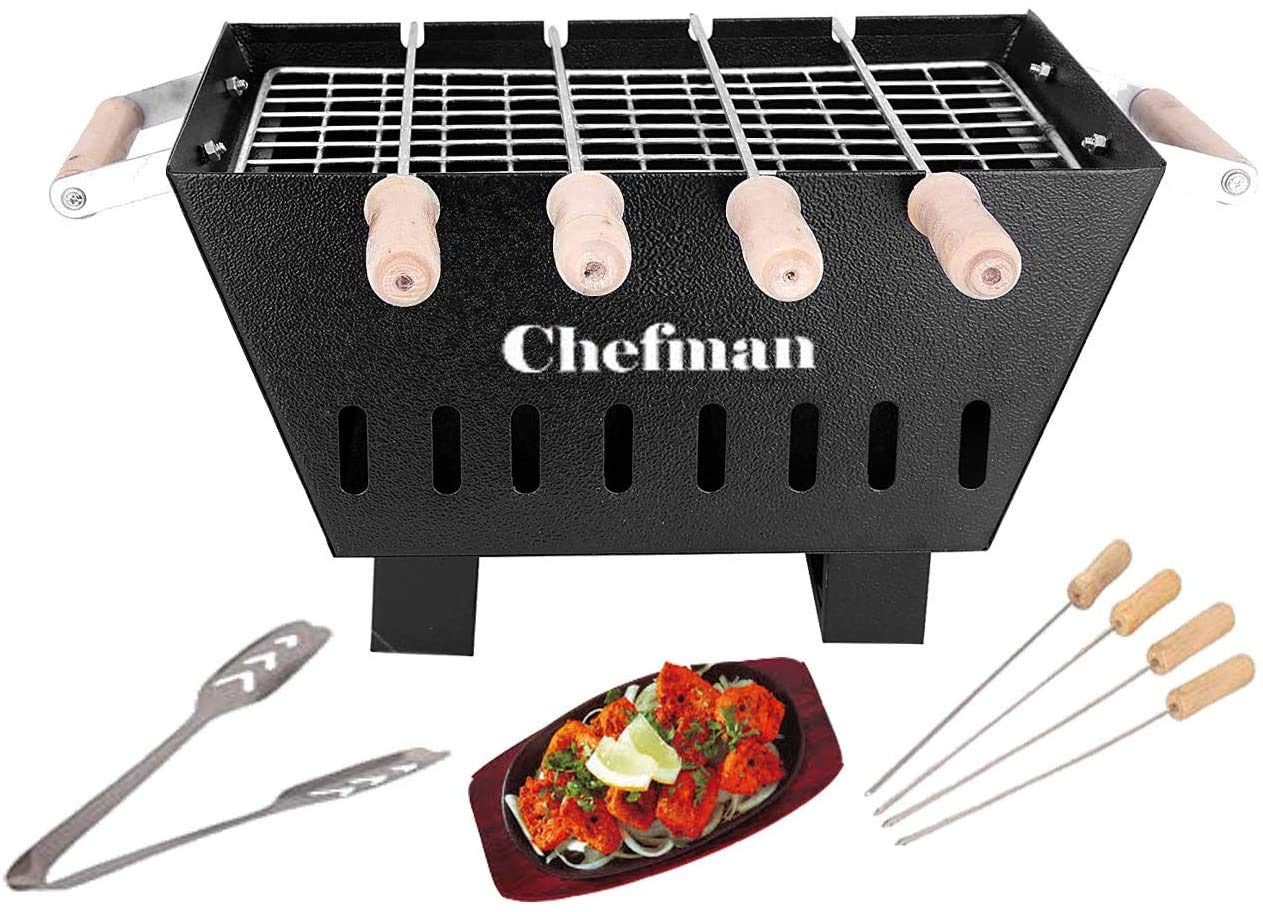 Chefman Small Charcoal Grill Barbeque
