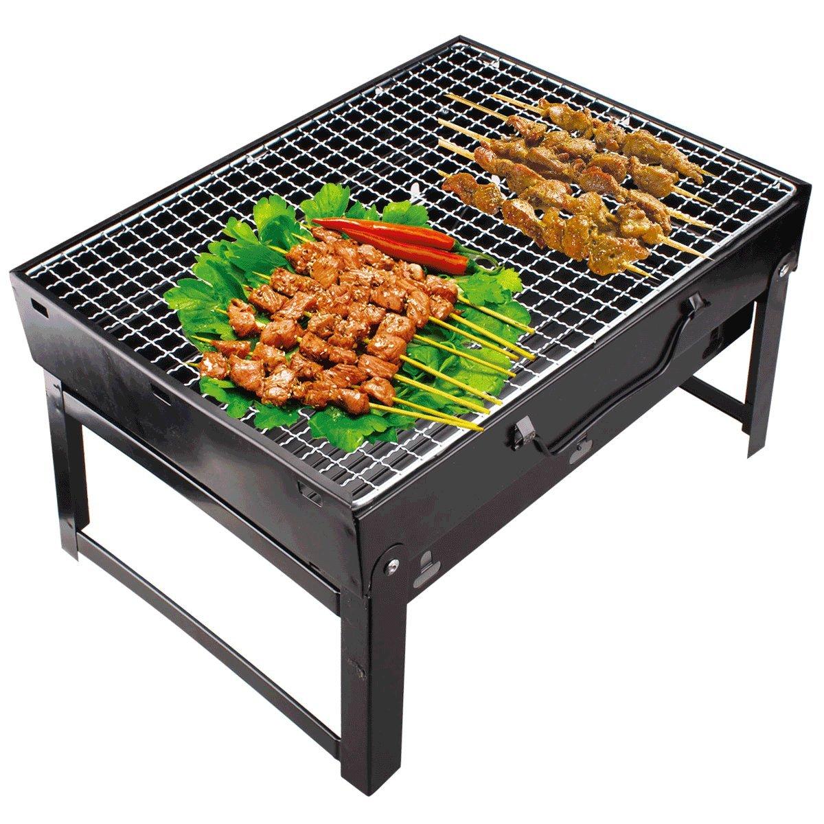 Supreme Folding Portable Charcoal BBQ
